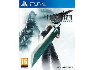 Final Fantasy VII Remake PS4 en Media Markt (eBay)