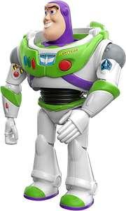 Pixar Interactables Buzz Lightyear parlanchín, habla con otros muñecos, figura de juguete con sonidos