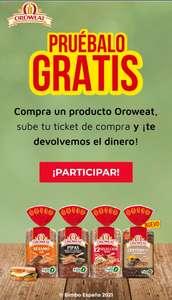 Prueba gratis los panes Oroweat (reembolso)