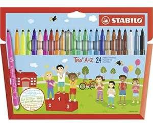Rotulador STABILO Trio AZ - Estuche de 24 colores (compra mínima 2 unidades. A 2€/unidad)