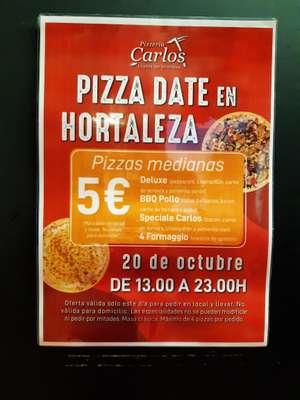 Pizza Date en Hortaleza Pizzeria Carlos