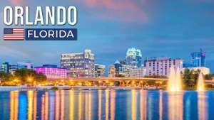 Vuelos ida y vuelta a Orlando desde 412€ paraMayo