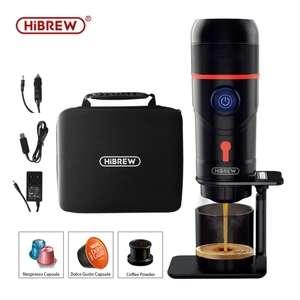 Cafetera portátil 12V, compatible Nespresso, DolceGusto y cápsulas de café en polvo (Desde España) (A partir del 21/10 a las 10:00)
