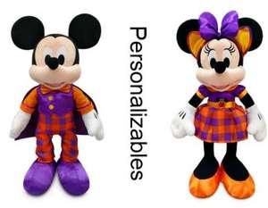 Peluche pequeño Mickey Mouse o Minnie Halloween