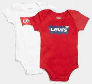 2 Bodys Levi´s para Bebés