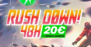 20€ gratis en saldo por compras superiores a 49€ en Versus Gamers