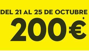 CONFORAMA: Cheque de 200€ gratis por compras superiores a 500€ (Del 21/10 al 25/10)
