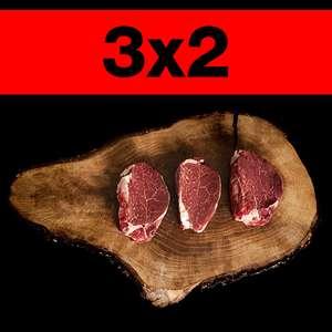 3x2 en Solomillos Premiums