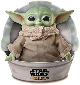 Star Wars Baby Yoda El niño de la Serie The Mandalorian, Figura Peluche de 28 cm (Mattel GWD85)