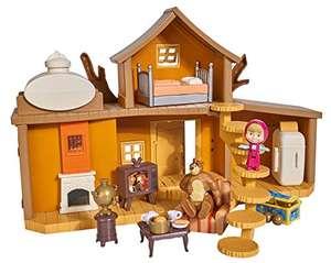 Juguete Gran Casa del Oso de Masha y el Oso con 2 figuras y accesorios para niños