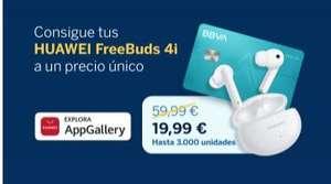 HUAWEI FreeBuds 4i a 19,99€ contratando Cuenta Online Sin Comisiones BBVA (sólo smartphones Huawei)