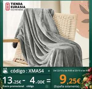 Manta para sofá, cama térmica, muchos colores