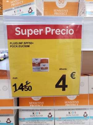 Protector solar Eucerin Kids 50+ Sensitive Protect (visto en Carrefour Finestrat)