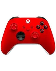 Mando Xbox Pulse Red por 51,59€; 49,01€ para socios; 43,59€ la unidad si compras 2