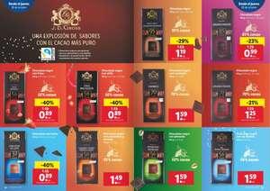 Oferta en chocolates negros Lidl - JD Gross