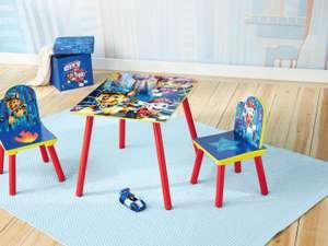 2 sillas y mesa Patrulla Canina