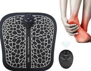 Masajeador de Pies Eléctrico. Estimulación Muscular con 6 Modos de masaje + 9 niveles de Intensidad