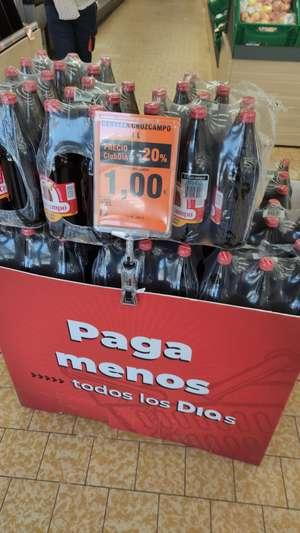 Cruzcampo litro en supermercados Dia