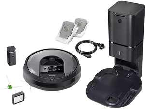 Robot aspirador - iRobot Roomba i7+ (i7550), 750 W, Autonomía 75 min, 68 dB, Programable, Negro