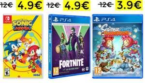 Liquidación en juegos de varias plataformas