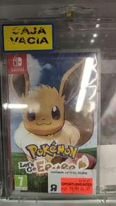 Pokemon Evee Nintendo Switch en Toysrus Huelva