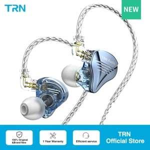Nuevos auriculares híbridos TRN TA2 (2 Knowles BA + 1 DD)