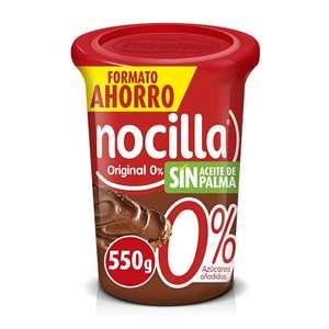 Pack 2 nocilla 0% azúcar (550g) y en nocilla original (620g)