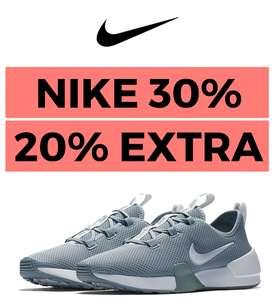 30% en NIKE + 20% EXTRA + Envío Gratis