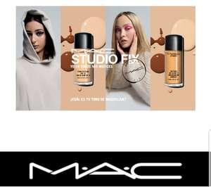 Base de maquillaje MAC gratis para una semana en la tienda CC PLENILUNIO (MADRID)