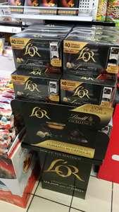 10 chocolatinas Lindt de regalo con cápsulas LOR