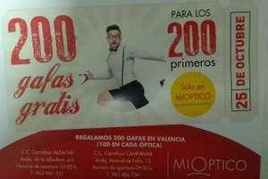 Gafas Graduadas gratis (en Valencia)