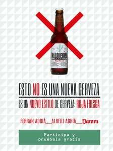 Cerveza Malquerida Gratis (Reembolso)