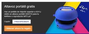 Altavoz portátil gratis Por compra en Epson