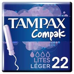 (PRODUCTO PLUS) 3 paquetes de tampones TAMPAX tirados de precio
