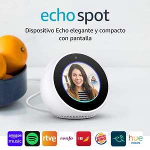 30€ de descuento en Amazon Echo Spot
