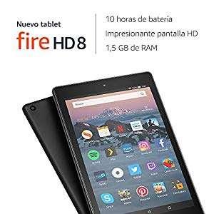 Nuevo tablet Fire HD 8 | Pantalla HD de 8 pulgadas, 32 GB, negro