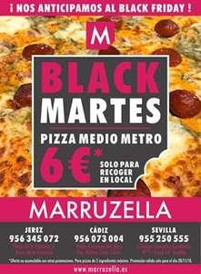 Pizza medio metro 6€ marruzella