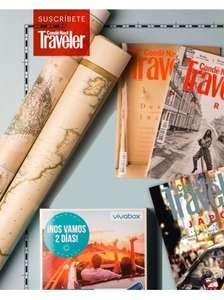 Chollos en Condé Nast por 19,90(pvp 78€) y 33€ (pvp 132€) - Revista Traveler + Pack experiencia