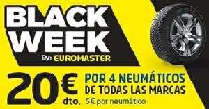 Black Friday en neumáticosEUROMASTER