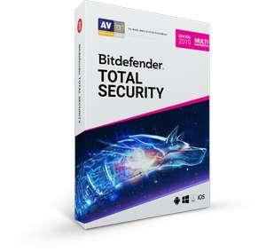 BitDefender Total Security 2019 para 5 o 10 dispositivos