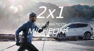 2x1 en neumáticos Michelin en Ford