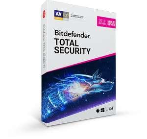Bitdefender TOTAL SECURITY 2019 (3 meses gratis para nuevos usuarios)