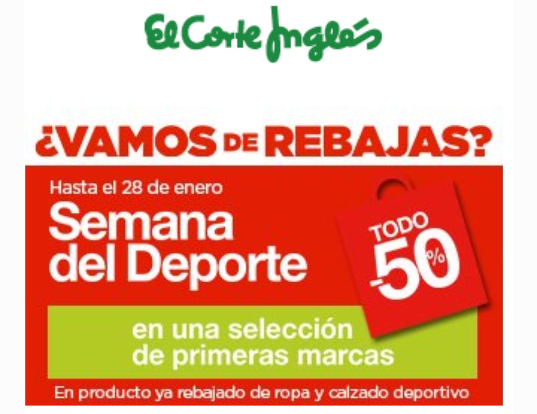 ac46cc8d5d118 Semana del deporte Corte Inglés - chollometro.com