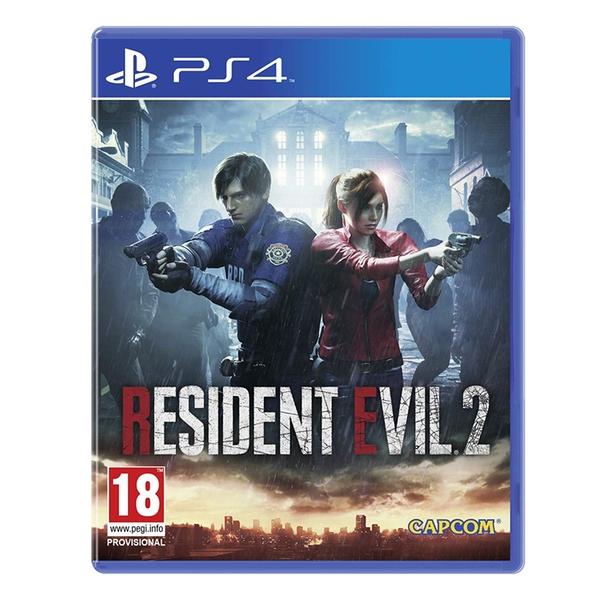 Resident Evil 2 Remake Ps4 Game Con Caratula 3d Chollometro Com