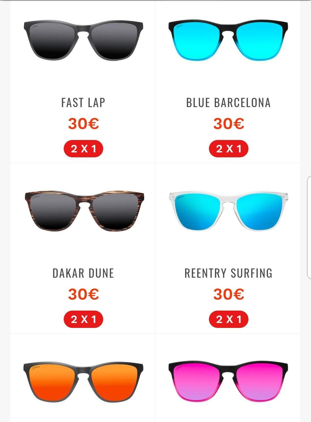 74186f8fc4 Gafas de sol. 2x1 - chollometro.com
