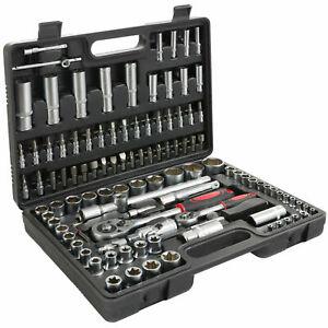 Maletin de herramientas 108 pcs llaves carraca vasos - Maletas para herramientas ...