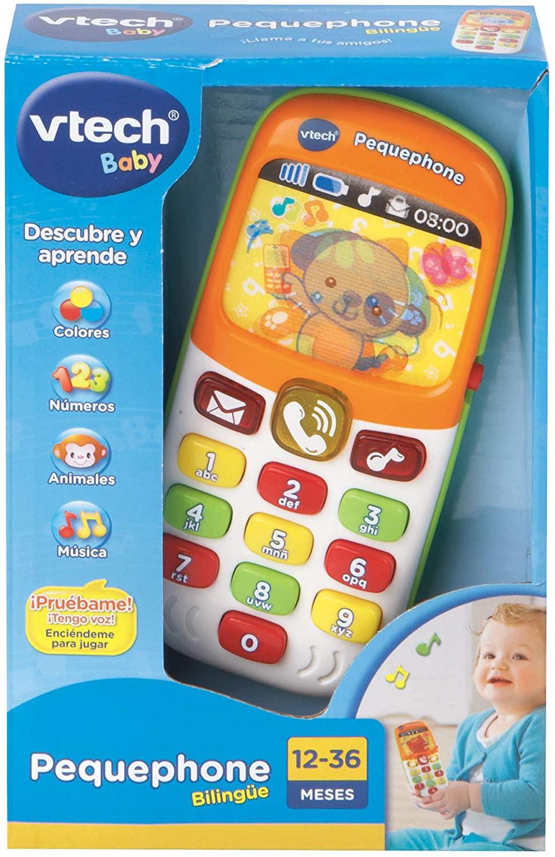 Vtech Pequephone teléfono bilingüe solo 10€ » Chollometro