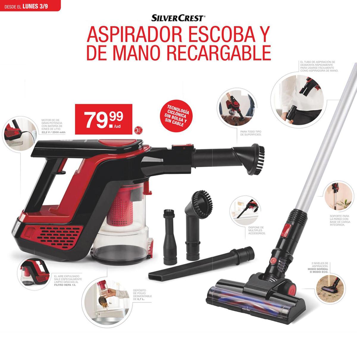 Lidel Online Aspirador Sin Cables Eo6mm