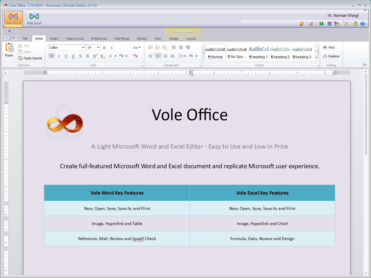 Resultado de imagen para Vole Office Professional