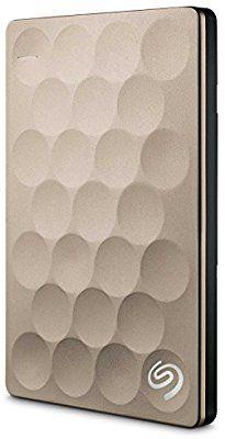 Seagate Backup Plus Ultra Slim - Disco duro externo portátil de 2.5' de 2TB